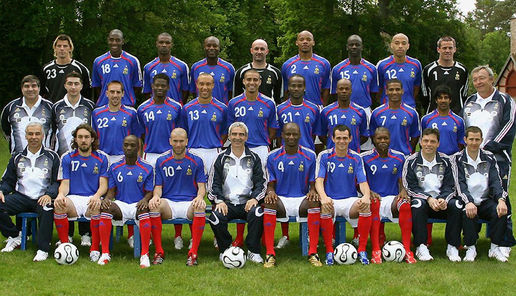 Deux equipe de france coupe du monde 2006 s lections - Coupe du monde de football 2006 ...