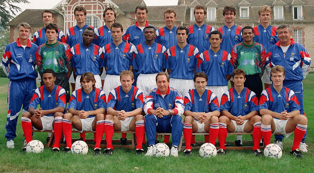Deux equipe de france eliminatoires coupe du monde 1994 s lections - Coupe du monde football 1994 ...